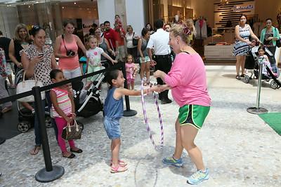 Peppa Pig at Westfield Topanga Mall