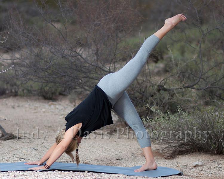 7458<br /> Yoga Portraits, Judy A Davis Photography, Tucson, Arizona