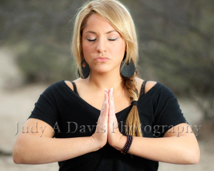 7444<br /> Yoga Portraits, Judy A Davis Photography, Tucson, Arizona