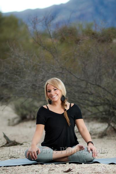 7441<br /> Yoga Portraits, Judy A Davis Photography, Tucson, Arizona