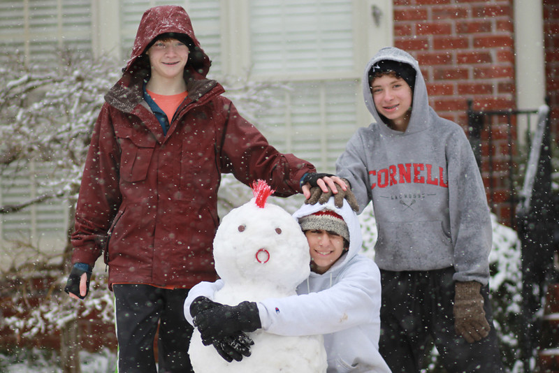 snowman friends a
