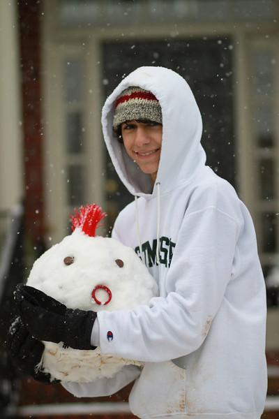 Austin snowman head