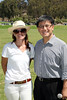 Event Chair Hannah Taylor, left, and John Chiang, California State Controller pose during the Will Rogers Dog Iron Polo event at the Will Rogers State Park Polo Field on Sunday,  Aug. 12, 2012, in Pacific Palisades, Calif. (Photo by Ryan Miller/Capture Imaging)