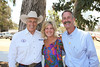 From left, Stuntman Richard Diamond Farnsworth, Jennifer Rogers-Etcheverry (Will Rogers' great granddaughter) and Will Rogers Ranch Foundation Board Member Wyatt McCrea (Grandson of western actor Joel McCrea) pose during the Will Rogers Dog Iron Polo event at the Will Rogers State Park Polo Field on Sunday,  Aug. 12, 2012, in Pacific Palisades, Calif. (Photo by Ryan Miller/Capture Imaging)