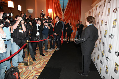 1204112-047     LAS VEGAS - APRIL 25: The 2012 Pioneer of the Year Press Line during the 2012 CinemaCon Convention held at Caesars Palace on April 25, 2012 in Las Vegas, Nevada.  (Photo by Garrett Davis/Capture Imaging)