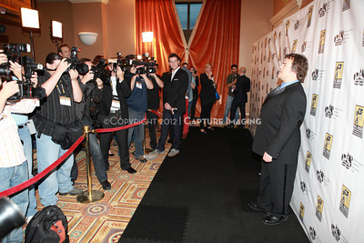 1204112-045     LAS VEGAS - APRIL 25: The 2012 Pioneer of the Year Press Line during the 2012 CinemaCon Convention held at Caesars Palace on April 25, 2012 in Las Vegas, Nevada.  (Photo by Garrett Davis/Capture Imaging)
