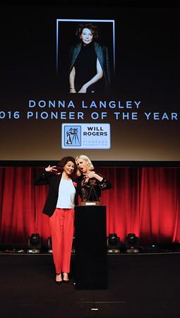 "2016 Will Rogers ""Pioneer of the Year"" Dinner Honoring Donna Langley"