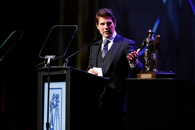 2018 Will Rodgers Pioneer of the Year Dinner honoring Tom Cruise at CinemaCon 2018