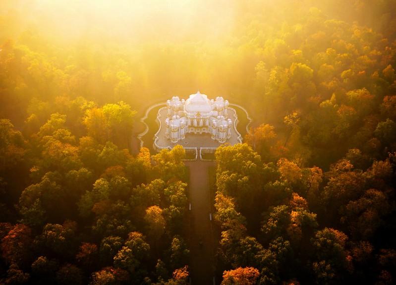 Hermitage Pavilion - St Petersburg, Russia