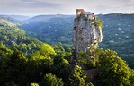 Katskhi Pillar where hermit lived 20 years to be closer to God - Georgia