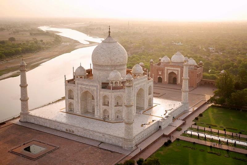 Taj Mahal A