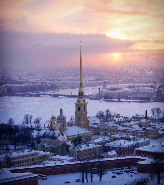 Peter and Paul Cathedral A - Peterhof, St  Petersburg, Russia