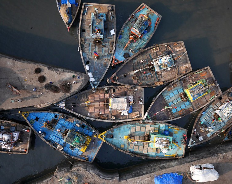 fishing boats - Mumbai, India