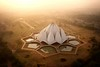 Lotus Temple - New Delhi, India