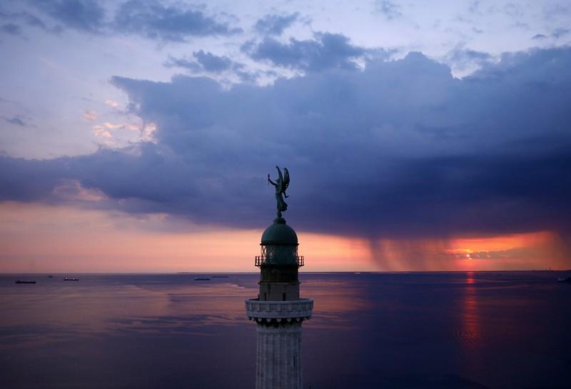 Vittoria Light overlooking Gulf of Trieste Italy