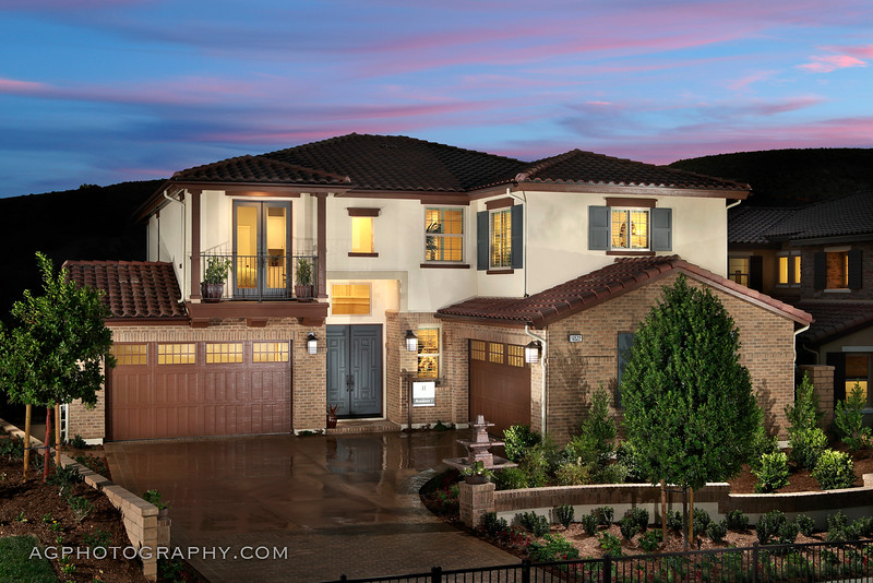 Hillcrest Models, Chino Hills, CA, 9/30/16.