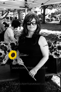 Woodstock IL Portrait Photographer. P.C. Marotta book signing at Read Between The Lynes. 7/13/2013