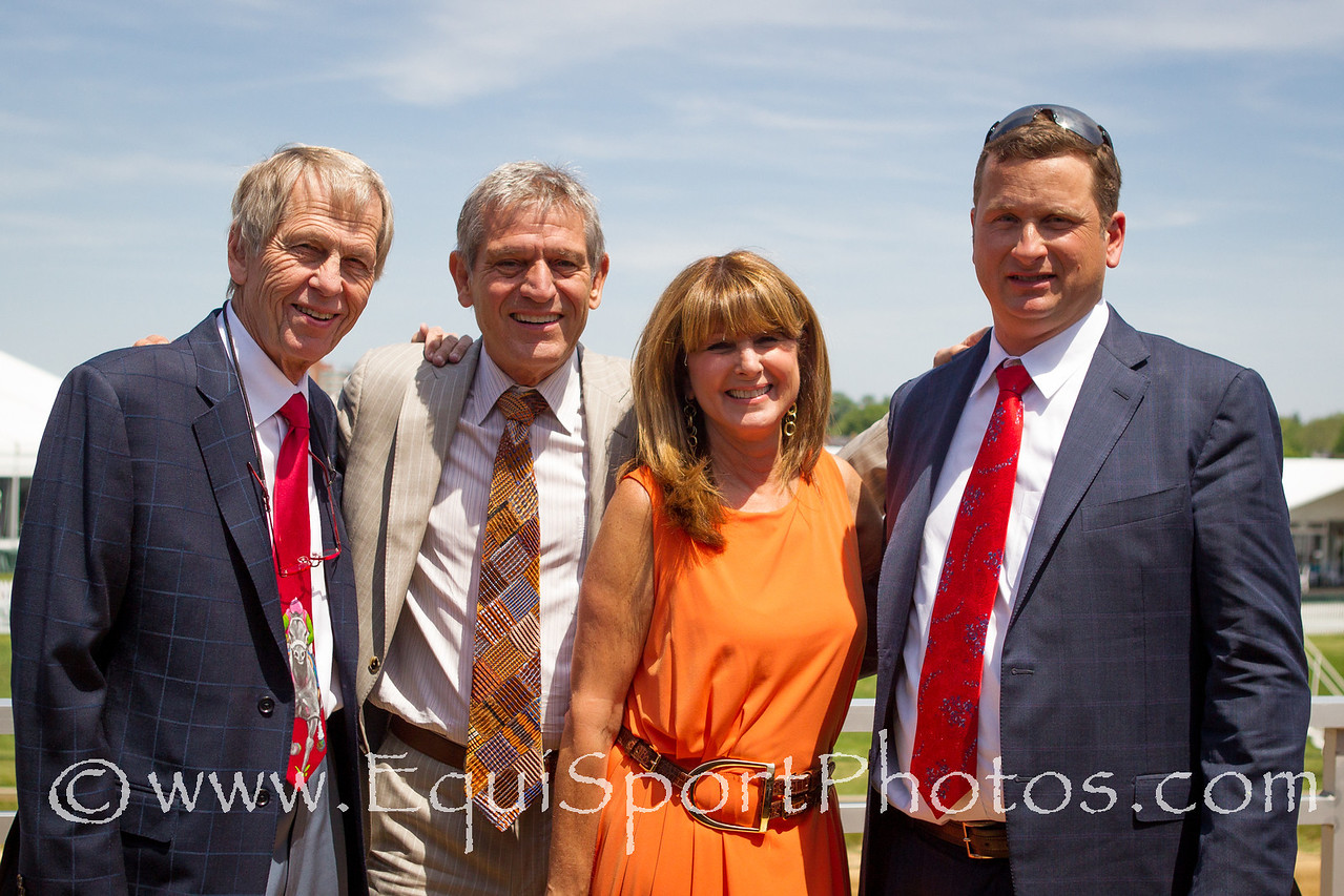 Xpressbet guests at Pimlico 5.18.2012