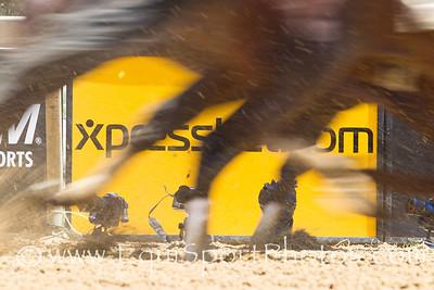 Xpressbet signage at Pimlico 5.19.2012