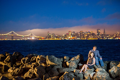 Yolanda and Matt Engagement Photos, Treasure Island Engagement Photos, San Francisco Engagement photos, San Francisco Engagement Photographers, Huy Pham Photography