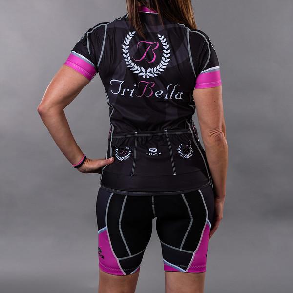 TriBellas-Sugoi-BlackCyclingKit-Back