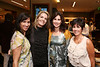 From left, Lilli-Mari Andersen, Catherina Madani, Shannon Bartlett and Nicole Montoya pose during the Ermenegildo Zegna South Coast Plaza Re-Opening Event on Thursday,  Sept. 27, 2012, in Costa Mesa, Calif. (Photo by Ryan Miller/Capture Imaging)