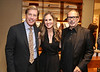 From left, Michael Moser, Salon Director Harry Winston, Audrey McKenzie, Ermenegildo Zegna Boutique Manager and Michael Rudder pose during the Ermenegildo Zegna South Coast Plaza Re-Opening Event on Thursday,  Sept. 27, 2012, in Costa Mesa, Calif. (Photo by Ryan Miller/Capture Imaging)