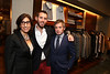 From left, Ermenegildo Zegna's Aslihan Danisman, Ray Oliver and Marcello D'Alessandro pose during the Ermenegildo Zegna South Coast Plaza Re-Opening Event on Thursday,  Sept. 27, 2012, in Costa Mesa, Calif. (Photo by Ryan Miller/Capture Imaging)