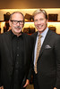 From left, Michael Rudder and Michael Moser, Salon Director Harry Winston pose during the Ermenegildo Zegna South Coast Plaza Re-Opening Event on Thursday,  Sept. 27, 2012, in Costa Mesa, Calif. (Photo by Ryan Miller/Capture Imaging)