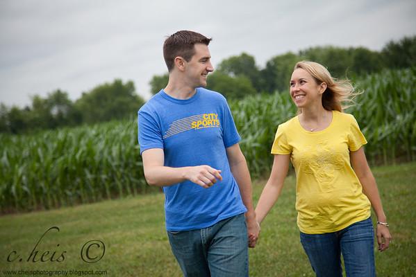 | Alicia + Brian | Ohio Engagement Session |