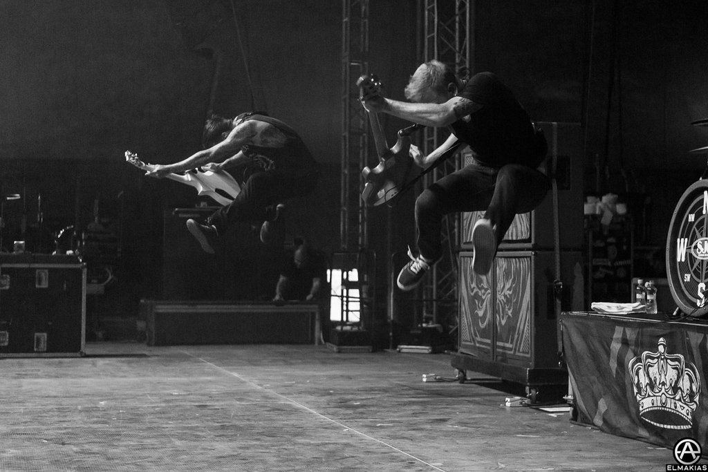 Neil Westfall and Josh Woodard of A Day To Remember