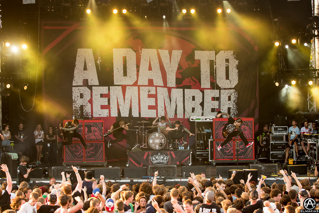 A Day To Remember jump