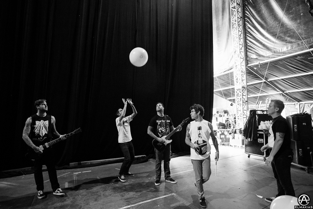 A Day To Remember backstage
