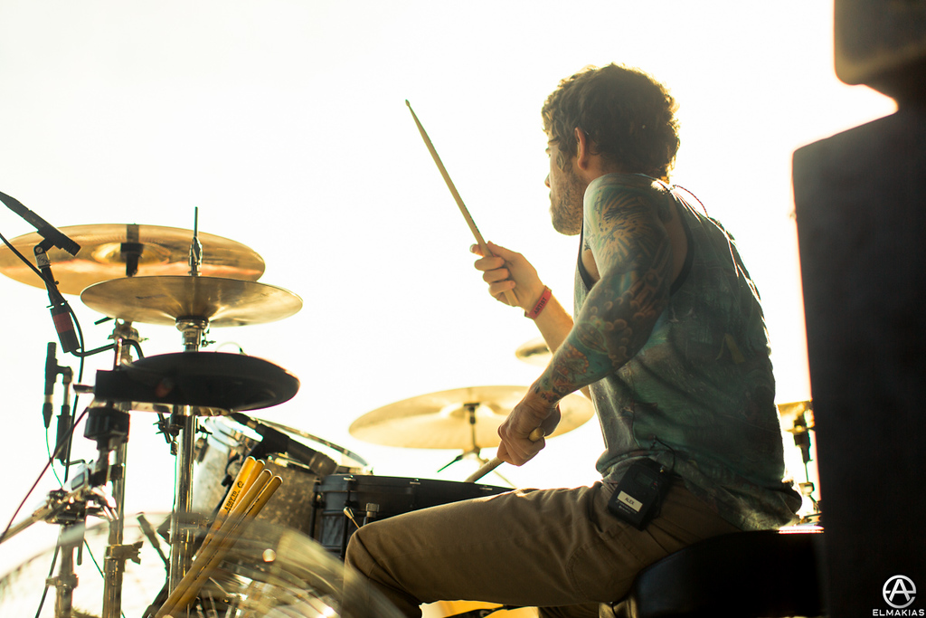 Alex Shelnutt of A Day To Remember