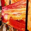 "$120...20""x 10""...82_2678 Orange...canvas on wood"