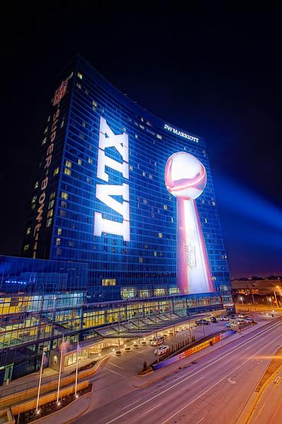 JW Marriott Indianapolis - Super Bowl XLVI (Night)