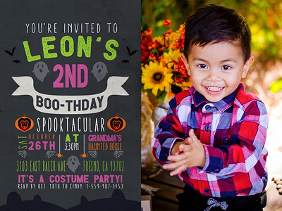 2_Leon_2nd_Bday_Invitation