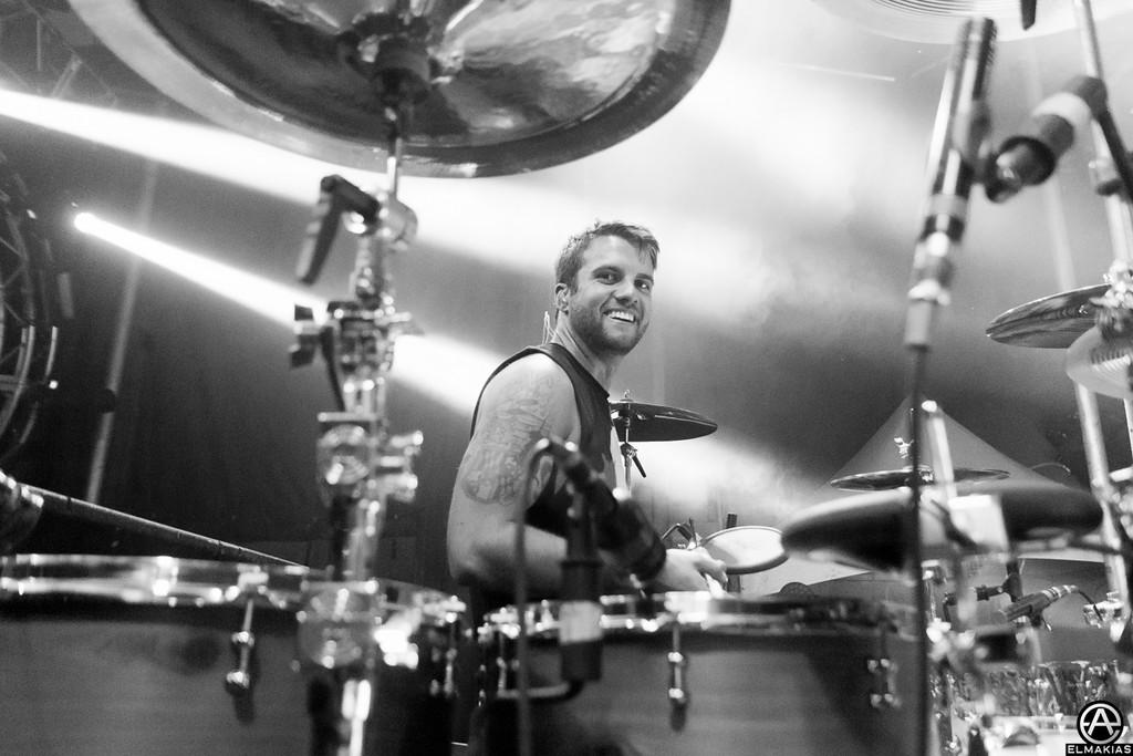 Rian Dawson of All Time Low - Spring Fever Tour