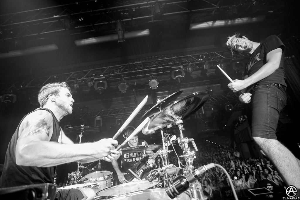 Rian Dawson and Jack Barakat of All Time Low