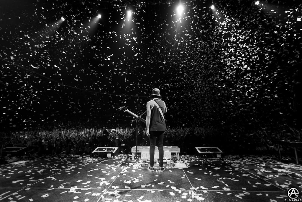 Vic Fuentes of Pierce The Veil - Spring Fever Tour