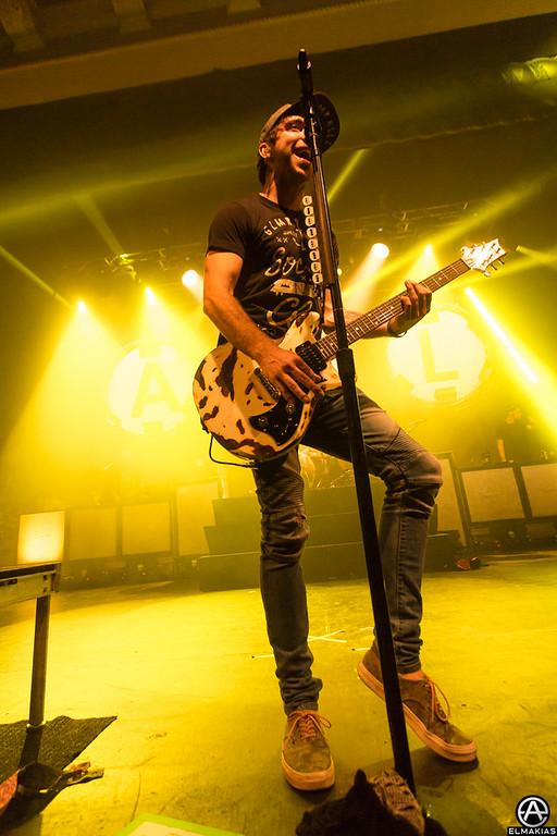 Alex Gaskarth of All Time Low - Spring Fever Tour