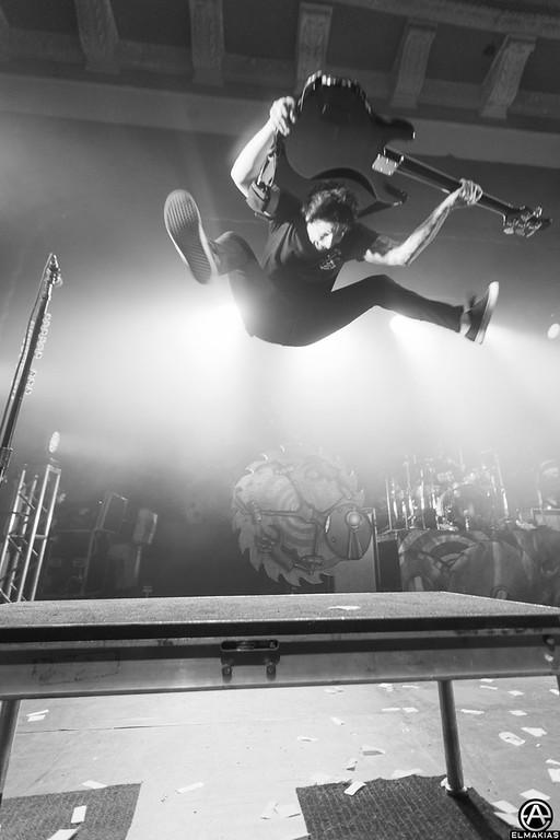 Jaime Preciado of Pierce The Veil - Spring Fever Tour