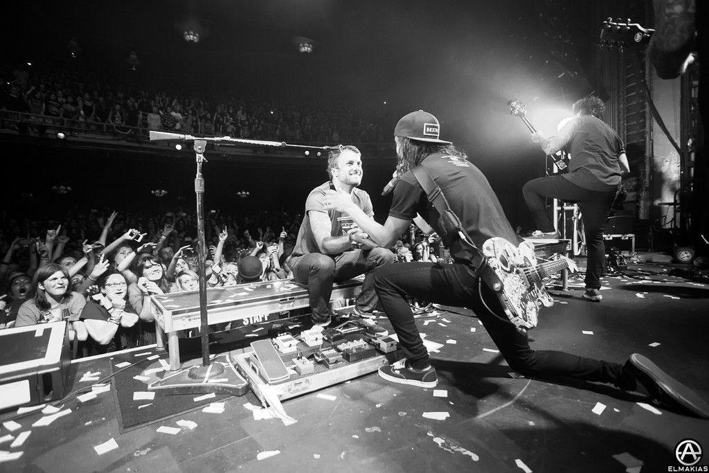 Vic and Rian having a broment - Spring Fever Tour