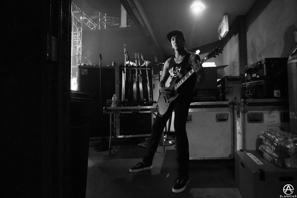 Tony Perry of Pierce The Veil - Spring Fever Tour