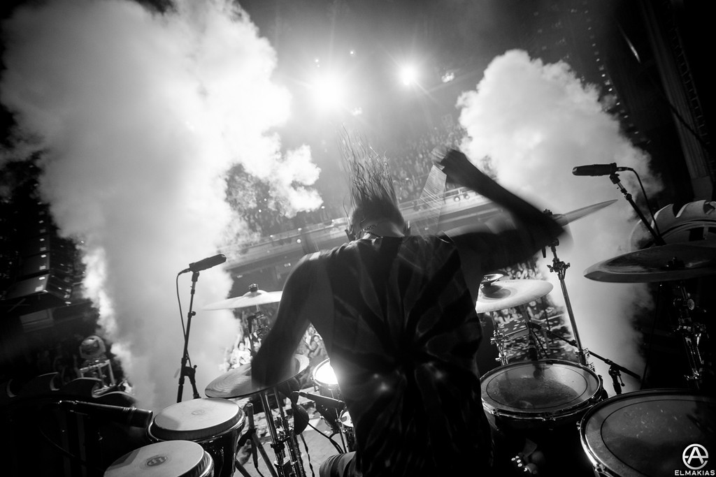 Mike Fuentes of Pierce The Veil - Spring Fever Tour