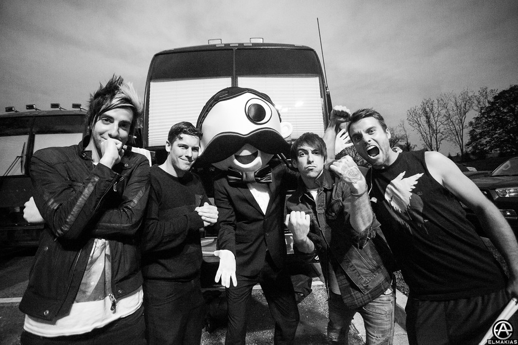 All Time Low and the Pringles man