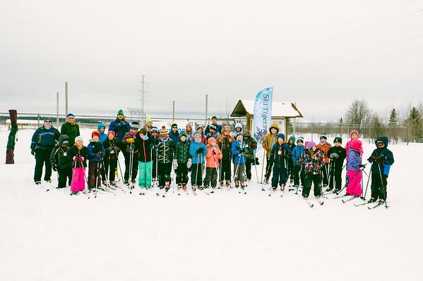 ski tigers - group photos 2017