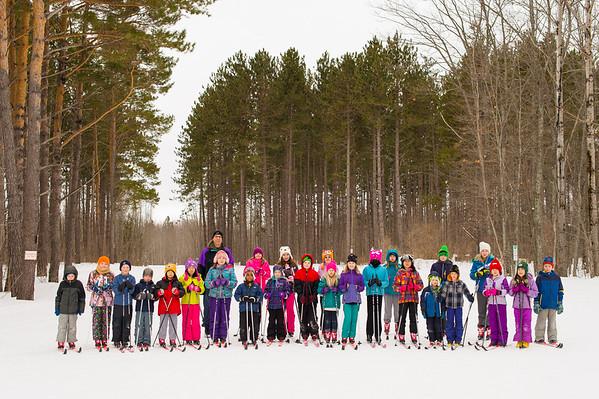 ski tigers - group shots 2015
