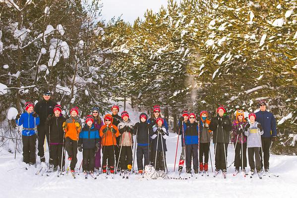 ski tigers - group shots 2016