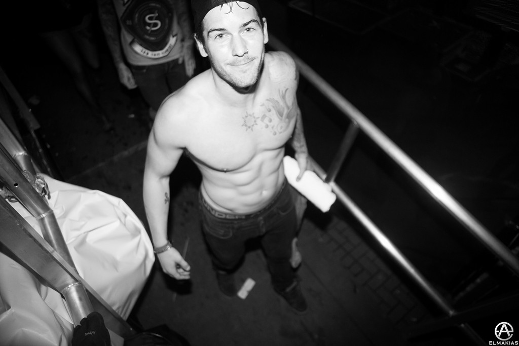 Zack Merrick of All Time Low